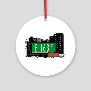 E 163 ST Ornament (Round)