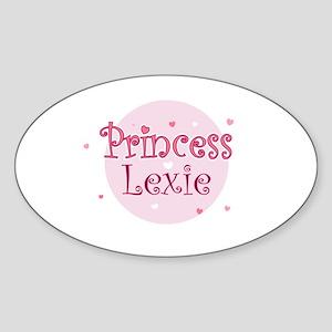 Lexie Oval Sticker