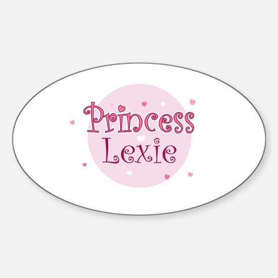 Lexie Oval Decal