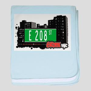 E 208 ST baby blanket