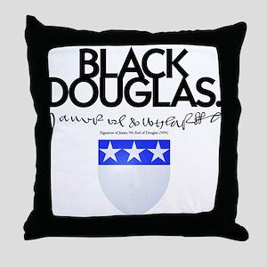 James Douglas Throw Pillow