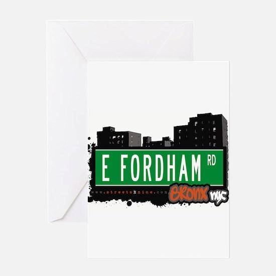 E Fordham Rd Greeting Card
