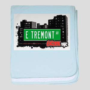 E Tremont Ave baby blanket