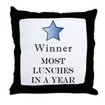Thee Free Lunch Award - Throw Pillow