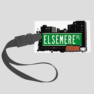 Elsemere Pl Large Luggage Tag