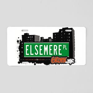 Elsemere Pl Aluminum License Plate