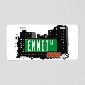 Emmet St Aluminum License Plate
