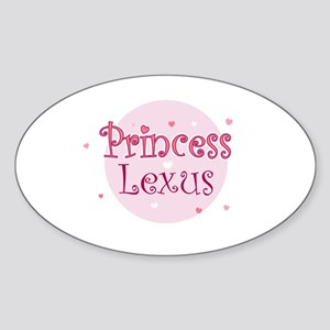 Lexus Oval Sticker
