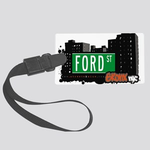 Ford St Large Luggage Tag