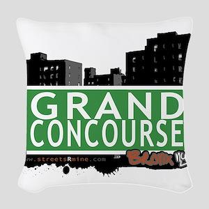 Grand Concourse Woven Throw Pillow