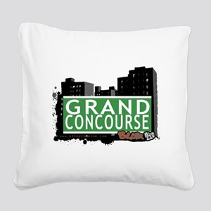 Grand Concourse Square Canvas Pillow