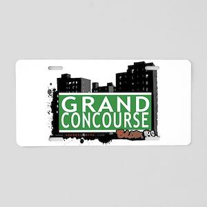 Grand Concourse Aluminum License Plate