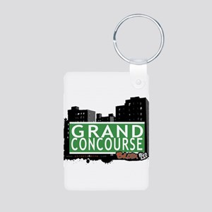 Grand Concourse Aluminum Photo Keychain