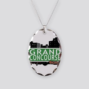 Grand Concourse Necklace Oval Charm