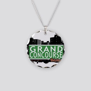 Grand Concourse Necklace Circle Charm