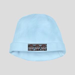 Jackson Hole Color Logo Vibrant baby hat