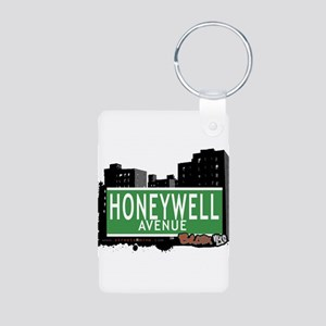 Honeywell Ave Aluminum Photo Keychain