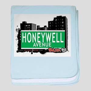 Honeywell Ave baby blanket