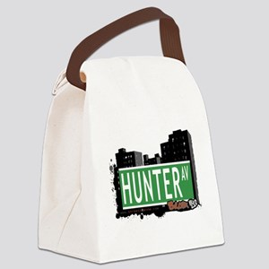 Hunter Ave Canvas Lunch Bag