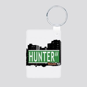 Hunter Ave Aluminum Photo Keychain