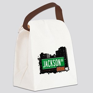 Jackson Ave Canvas Lunch Bag