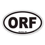 Airport Codes : Oval Bumper Stickers by OvalStickers net