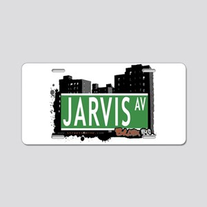 Jarvis Ave Aluminum License Plate