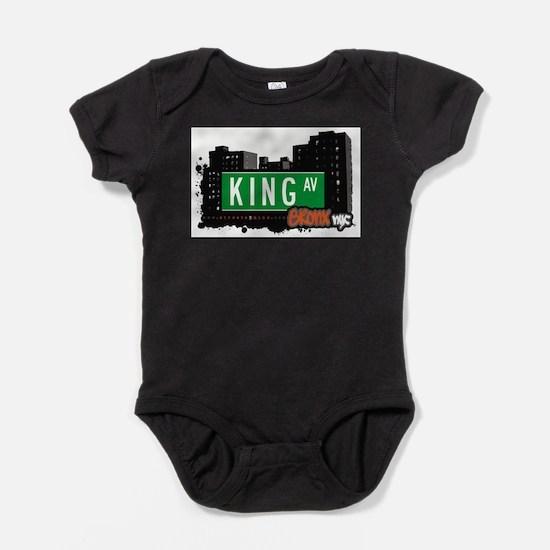 King Ave Baby Bodysuit