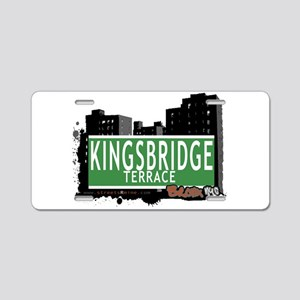 KINGSBRIDGE TER Aluminum License Plate