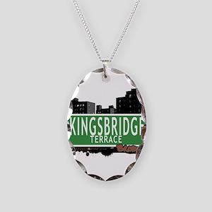 KINGSBRIDGE TER Necklace Oval Charm
