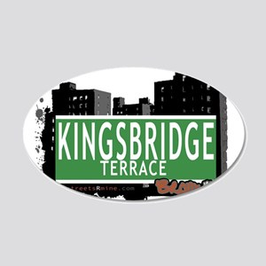 KINGSBRIDGE TER 20x12 Oval Wall Decal