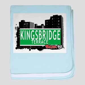 KINGSBRIDGE TER baby blanket