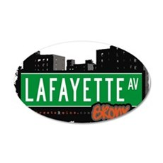 Lafayette Ave Wall Decal