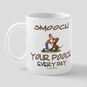 smooch the pooch3 Mugs