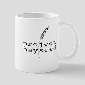 Hayseed Logo blk Mugs