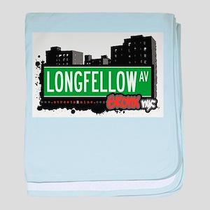 Longfellow Ave baby blanket