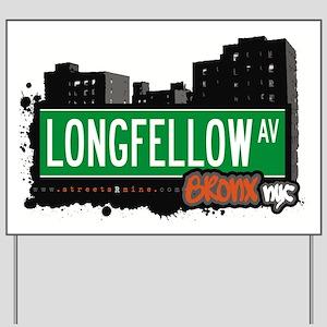 Longfellow Ave Yard Sign