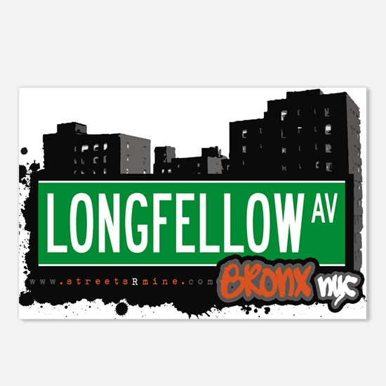 Longfellow Ave Postcards (Package of 8)