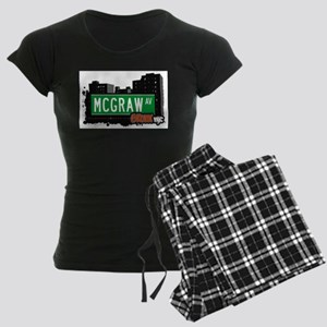 McGraw Ave Women's Dark Pajamas