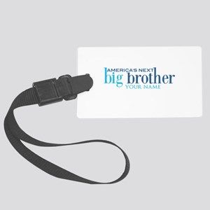 Personalized Big Brother Large Luggage Tag