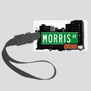Morris Ave Large Luggage Tag