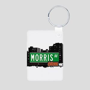 Morris Ave Aluminum Photo Keychain