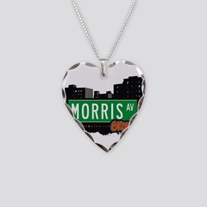 Morris Ave Necklace Heart Charm