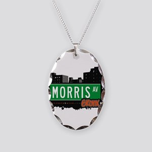Morris Ave Necklace Oval Charm