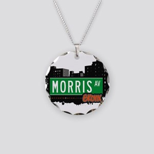 Morris Ave Necklace Circle Charm