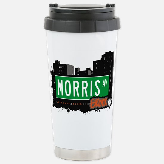 Morris Ave Stainless Steel Travel Mug