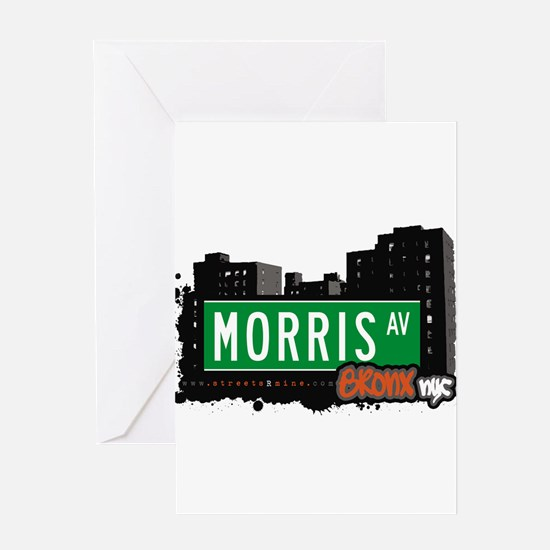Morris Ave Greeting Card