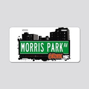 Morris Park Ave Aluminum License Plate
