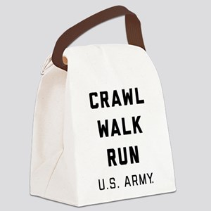 U.S. Army Crawl Walk Run Canvas Lunch Bag