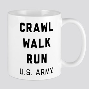 U.S. Army Crawl Walk Run 11 oz Ceramic Mug
